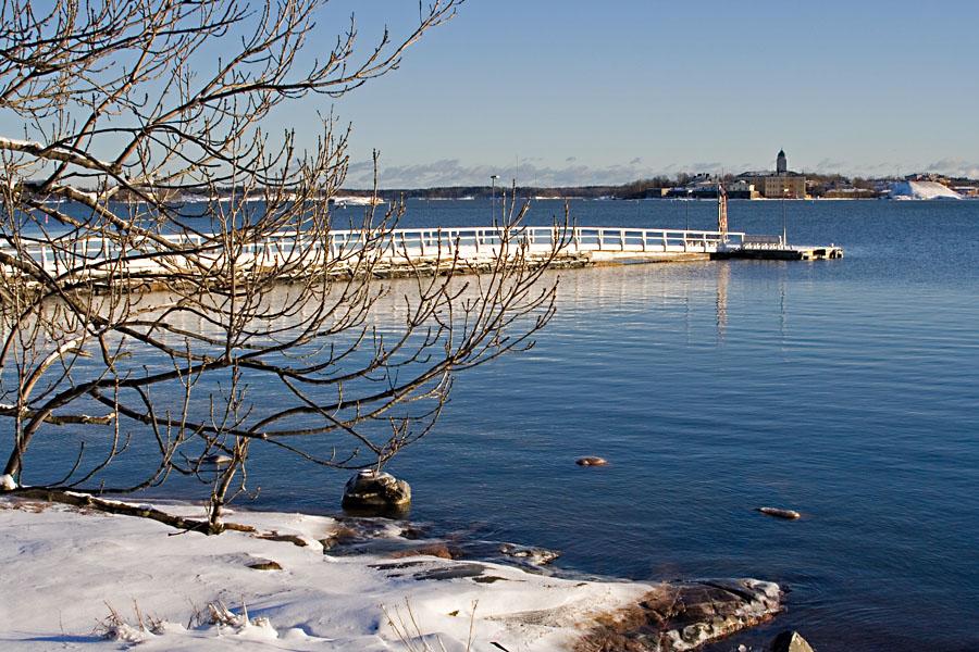 Pier at Kaivopuisto