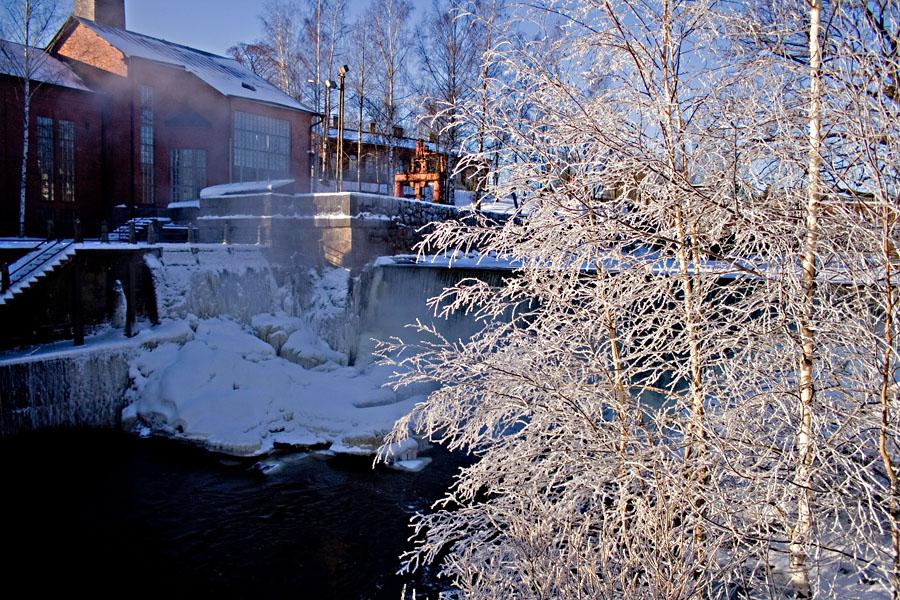 Talvinen Vanhankaupunginkoski
