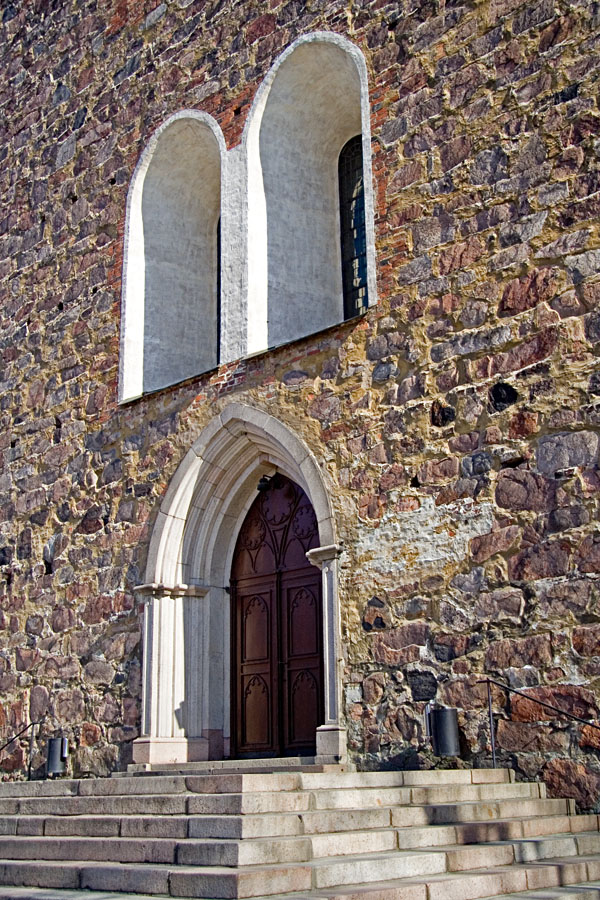 Entrance of Turku cathedral