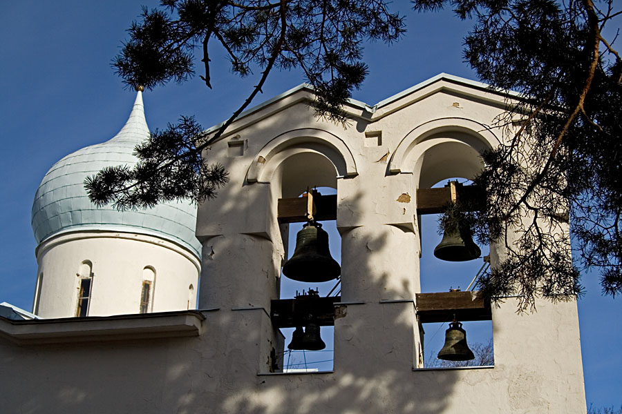 Ortodoksisen hautausmaan kappelin kellot