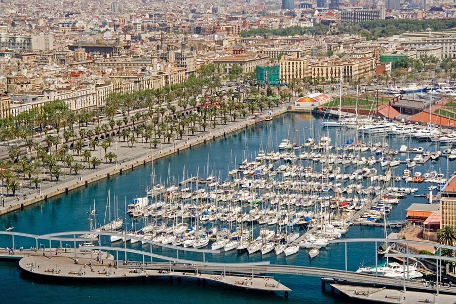 Barcelonan satama
