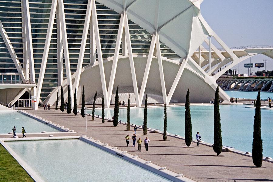 Tiedemuseo Valencian taide- ja tiedekeskuksessa