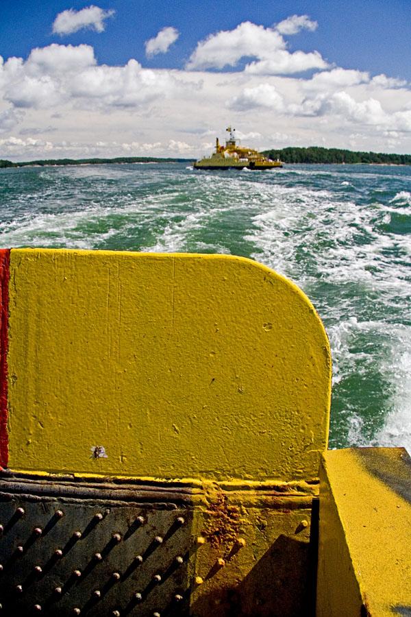 Ferry between Korppoo and Houtskari