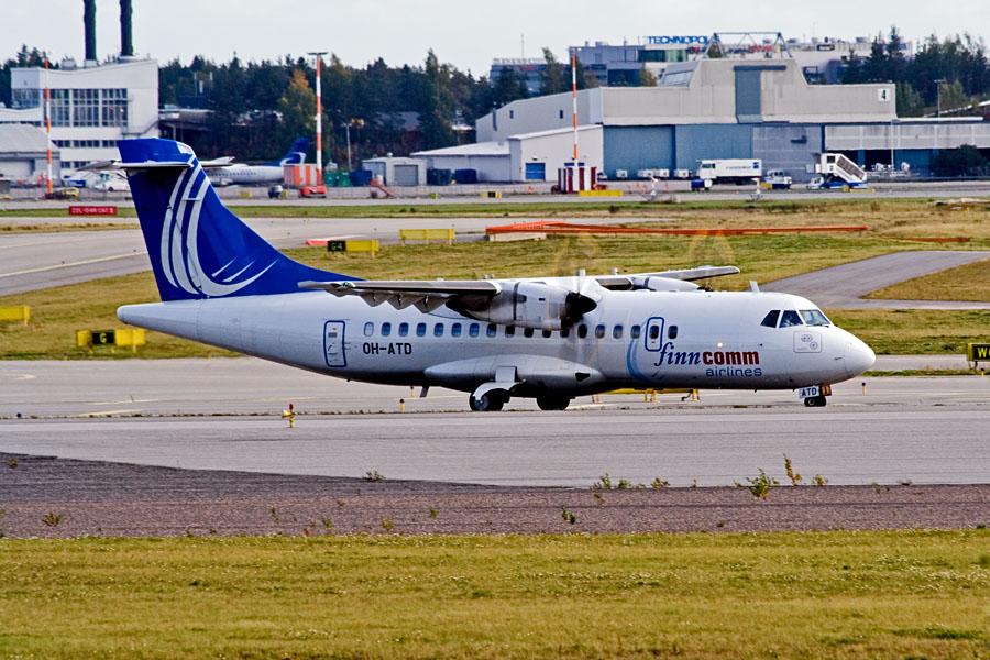 FinnComm airlines ATR ATR-42-500 (OH-ATD)