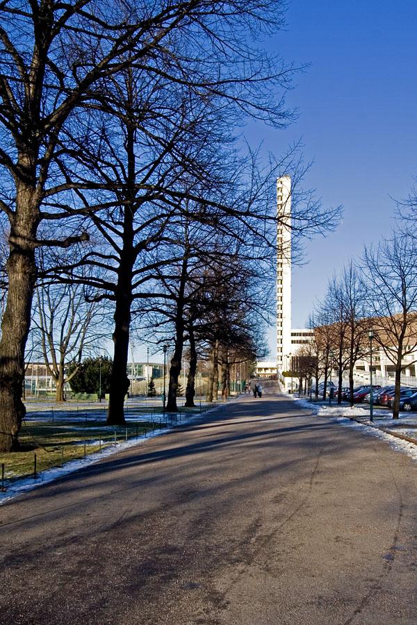 Paavo Nurmen tie street