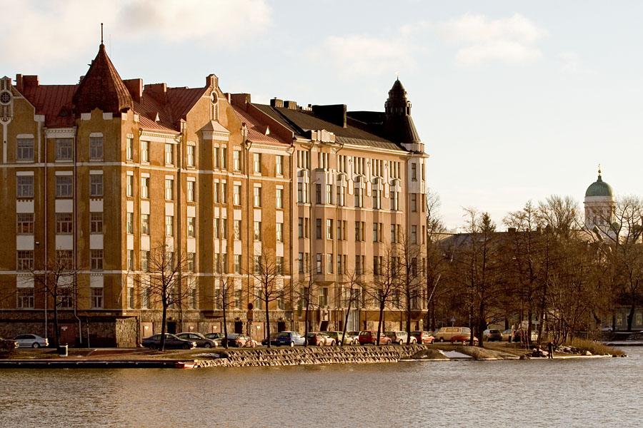 Apartment block at Siltasaarenkärki