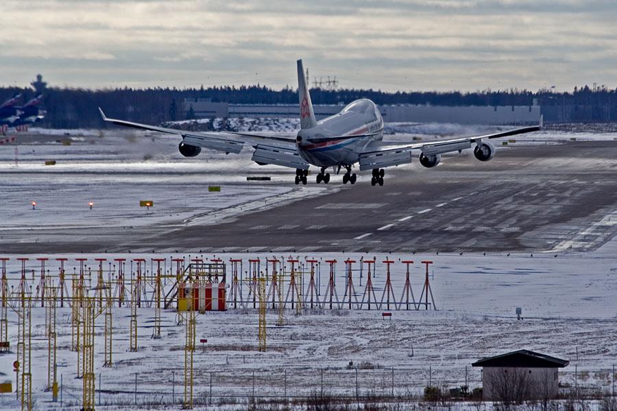 Cargolux Boeing 747-4R7F/SCD LX-WCV