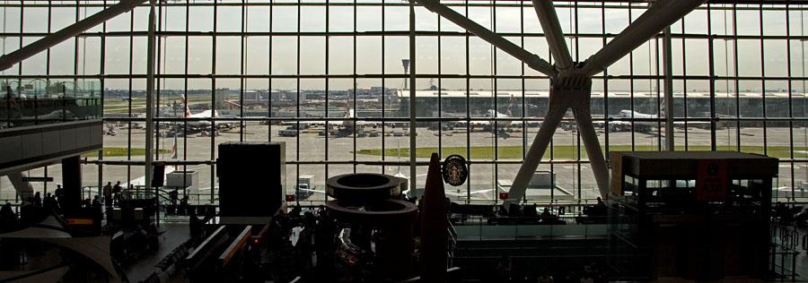 Heathrown lentokentän uusi terminaali 5