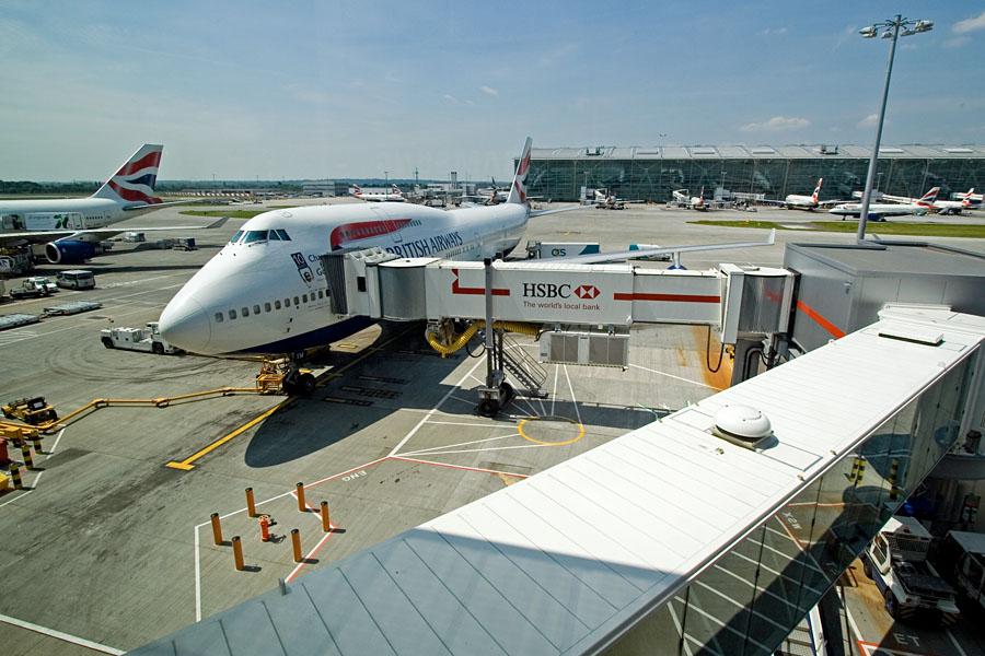 British Airwaysin lentokoneita