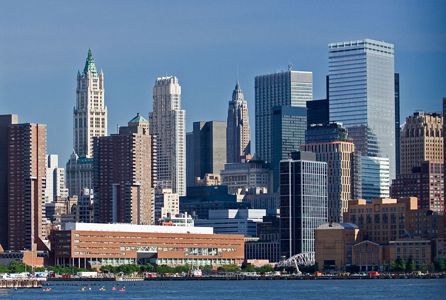 Ala-Manhattanin pilvenpiirtäjiä