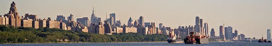 Manhattan ja Hudson-joki