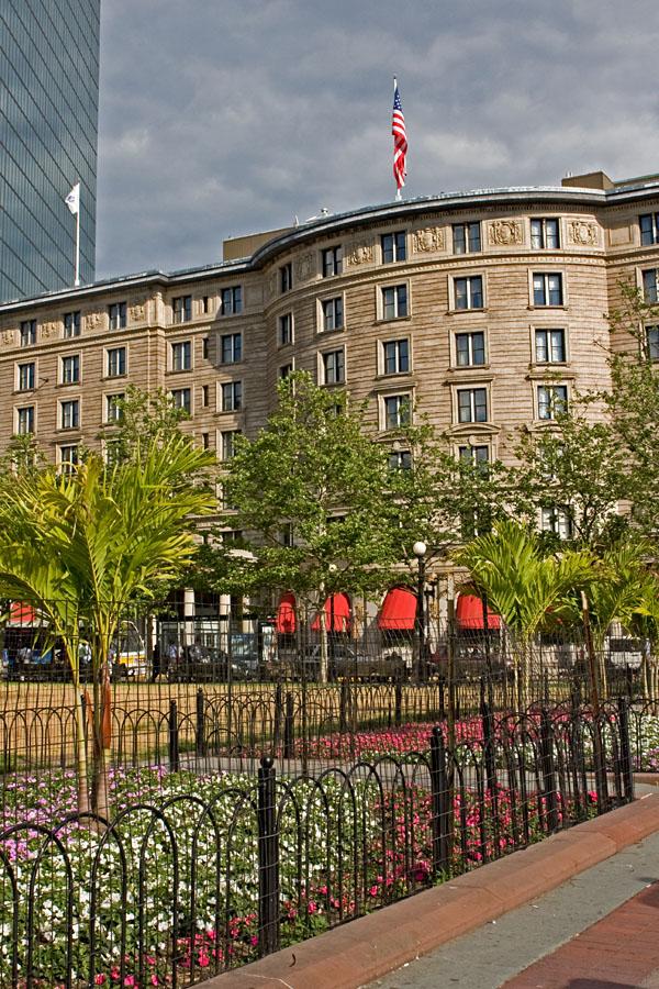 Fairmont Copley Plaza hotel at Copley square
