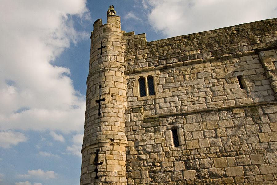 Torni Yorkin kaupunginmuurissa