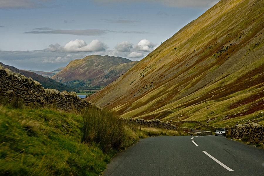 Maantie Lake Districtissä
