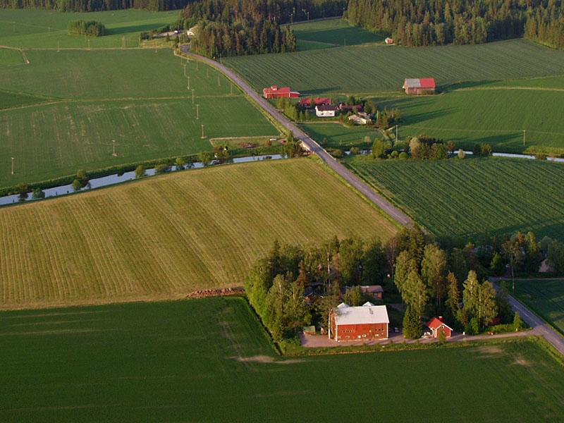 A farm in Mattila village in Mäntsälä