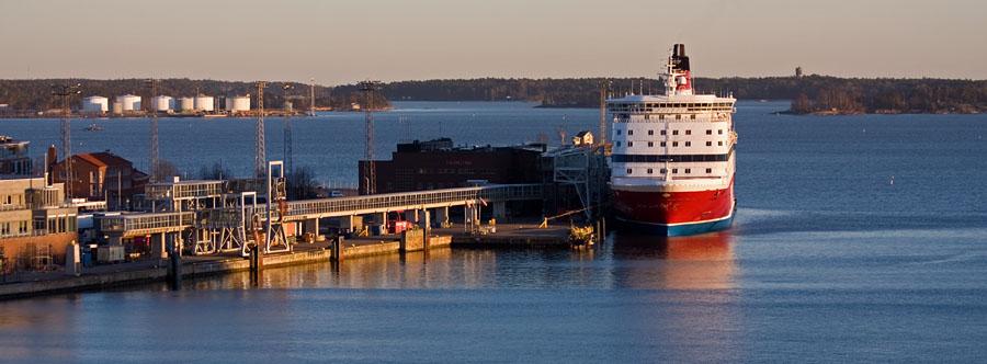 Viking Line M/S Gabriella ferry at Katajanokka