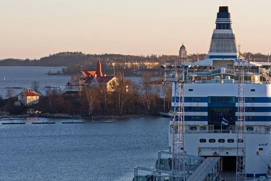 M/S Silja Serenade, Klippan ja Suomenlinna