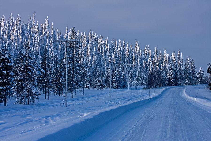Talvinen Virkkulantie