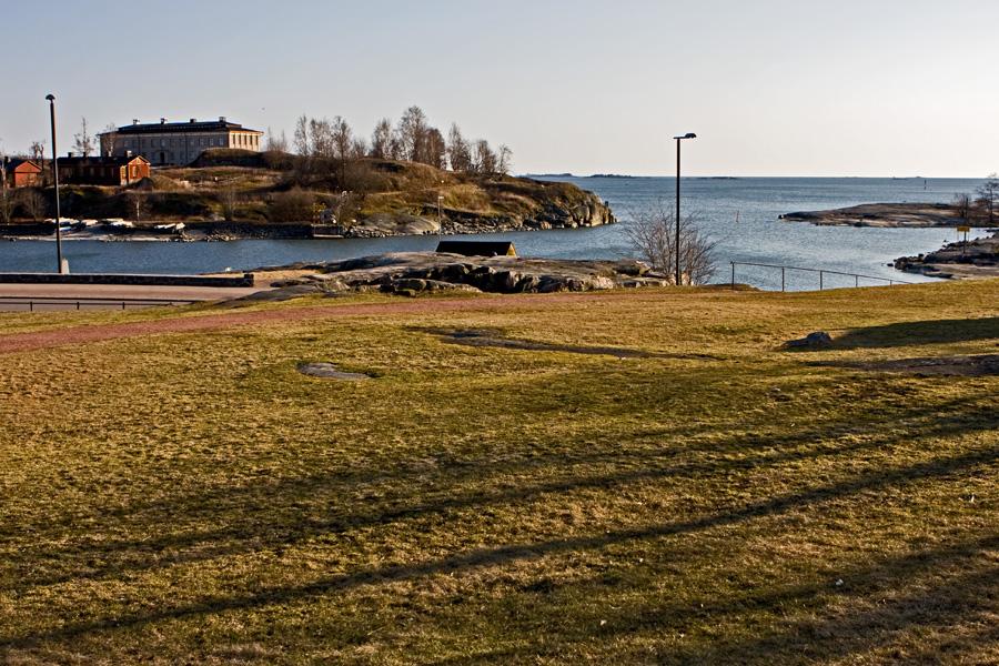 Harakka island and Uunisaari sound