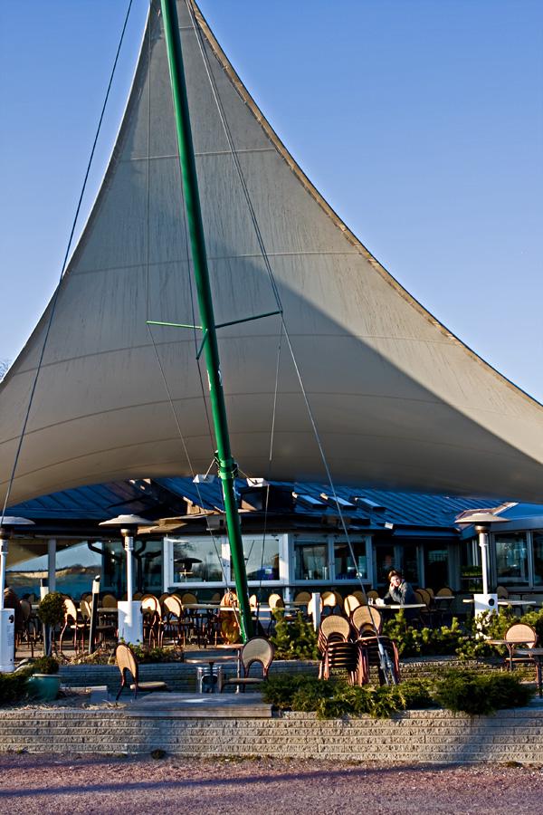 Cafe Ursula at Kaivopuisto waterfront