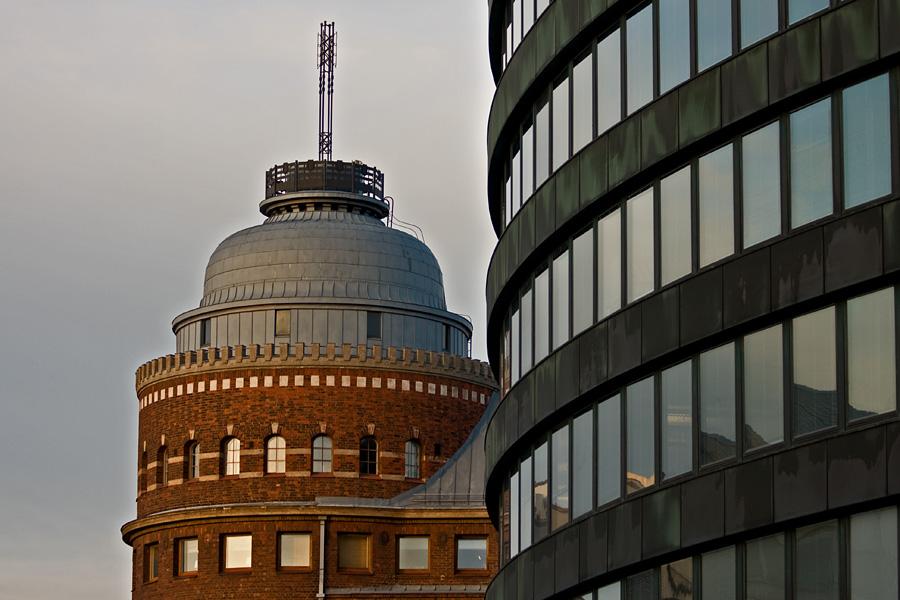 Arena-talon torni ja Ympyrätalo