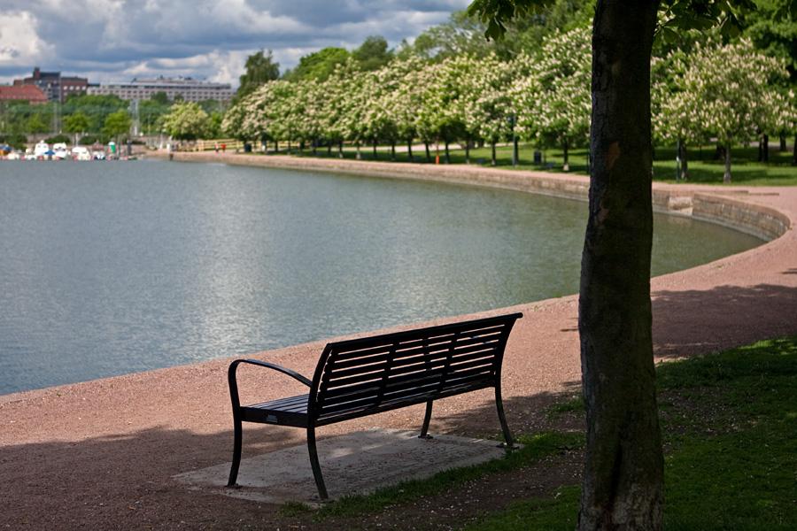 A bench at Tokoinranta