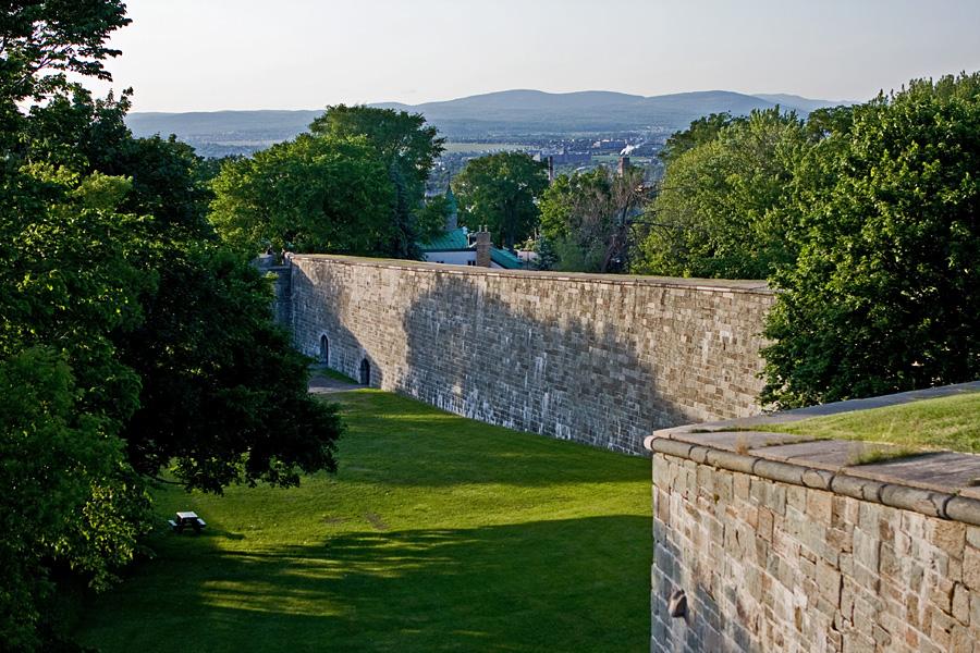 Québecin vanhan kaupungin muuri
