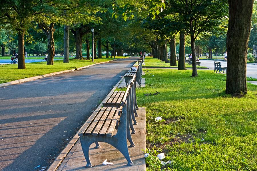 Penkkejä Flushing Meadows'n puistossa