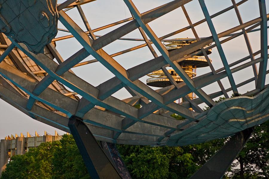 Unisphere Flushing Meadows -puistossa
