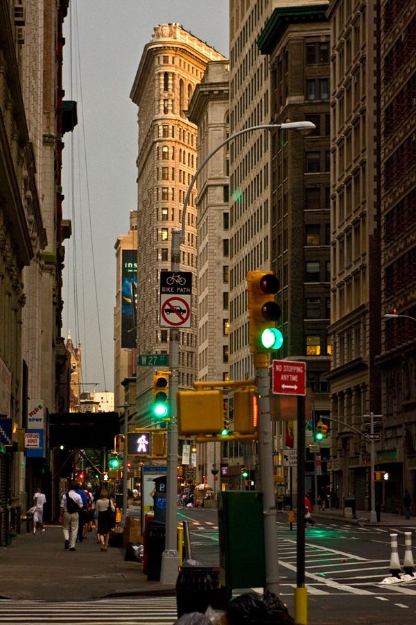 Broadway'ta 27. kadun kohdalta