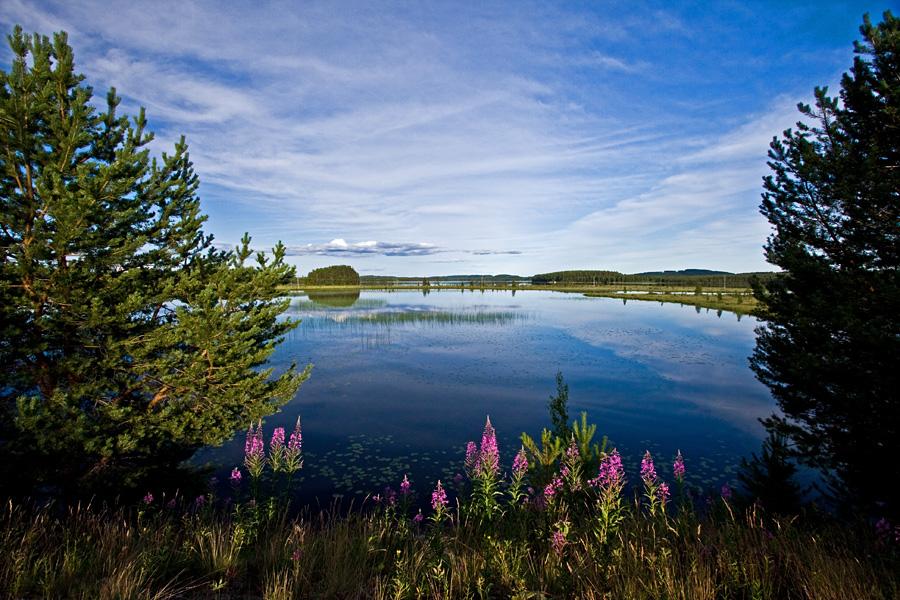 Pudasjärvi Ruunaantieltä nähtynä