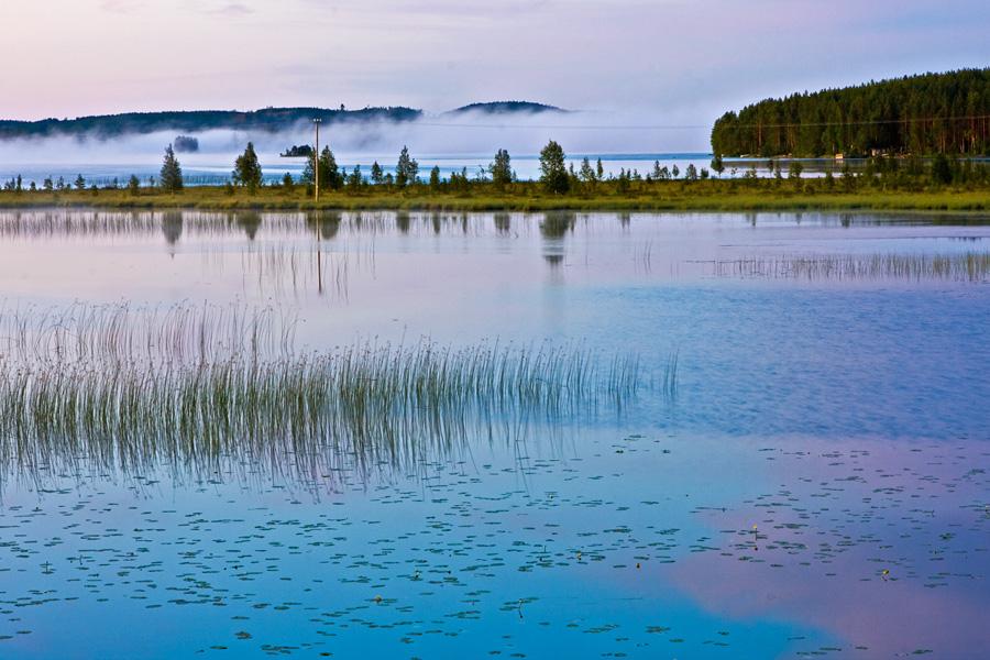 Sumuinen Paanajärvi