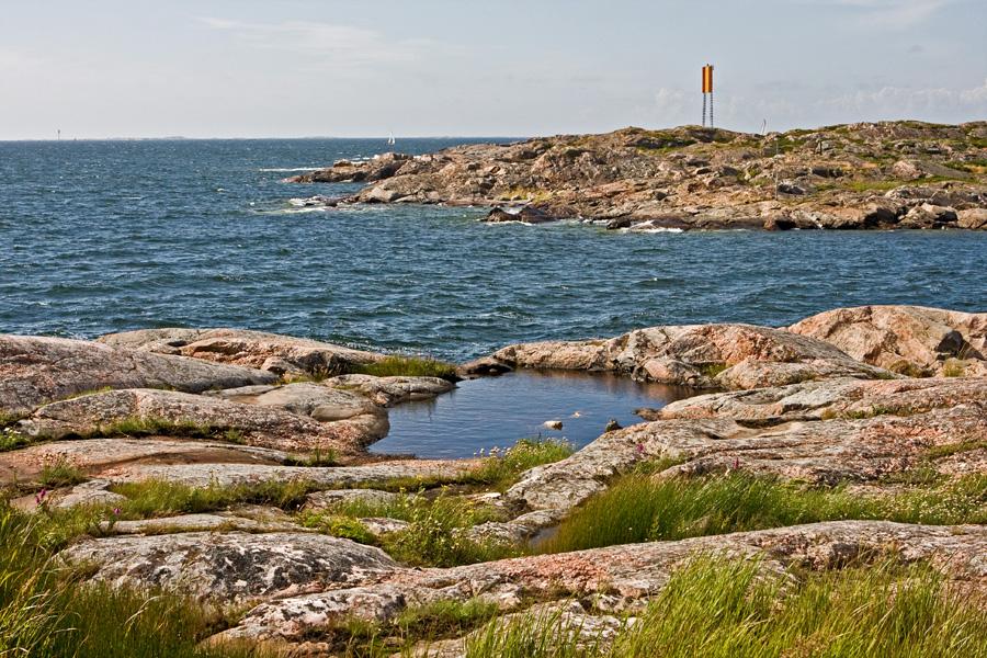 The small sound between Finnskär and Utö islands