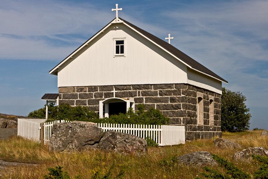 Bönehuset, the Utö chapel