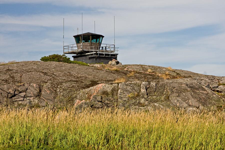Merivartiotorni Utön saarella
