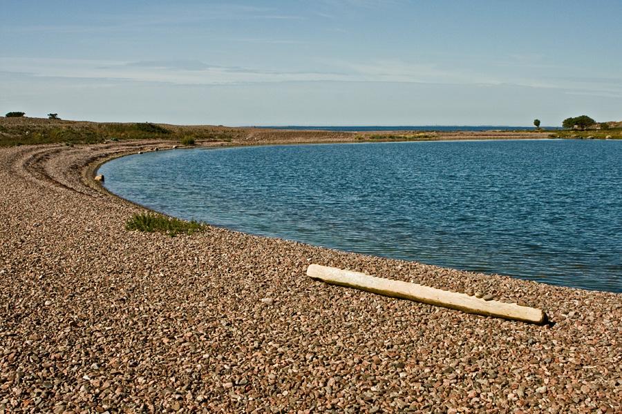 Stone beach at Jurmo