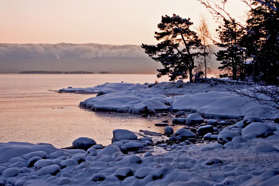 Skatanniemi at winter