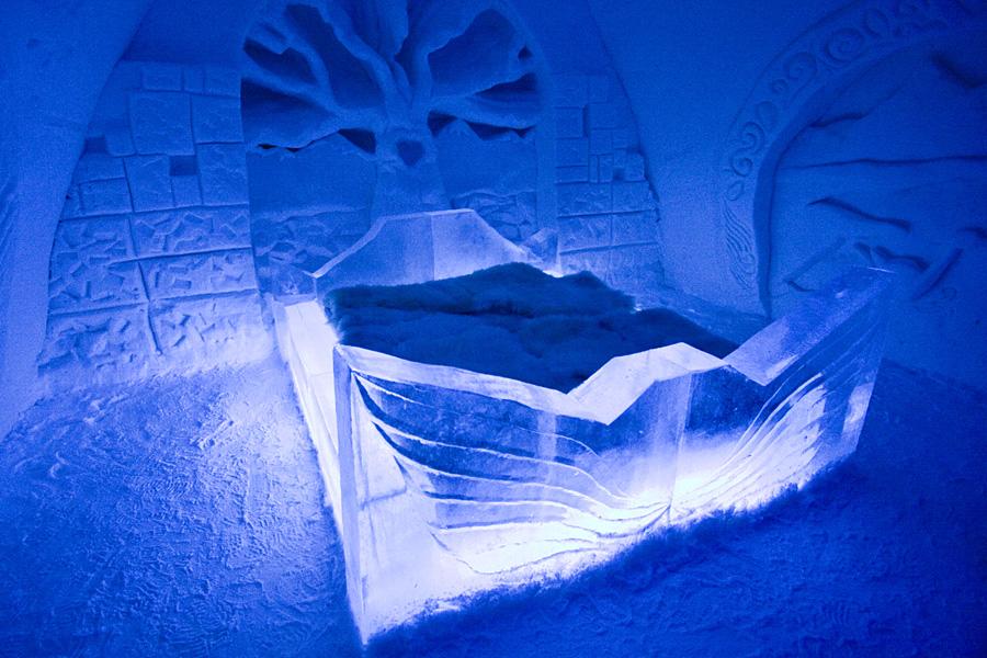 A suite at the Kemi Snow Castle