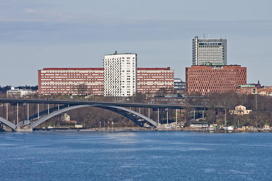 Rakennuksia Kungsholmenilla