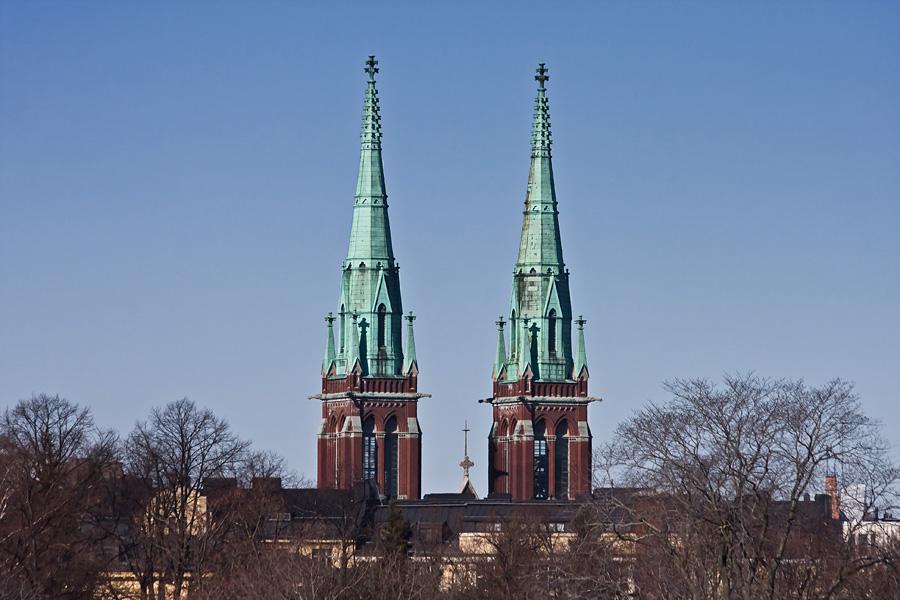 Johanneksenkirkon tornit
