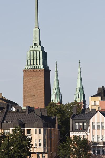 Mikael Agricolan ja Johanneksen kirkkojen tornit