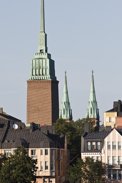 Towers of Mikael Agricola and St John's churches