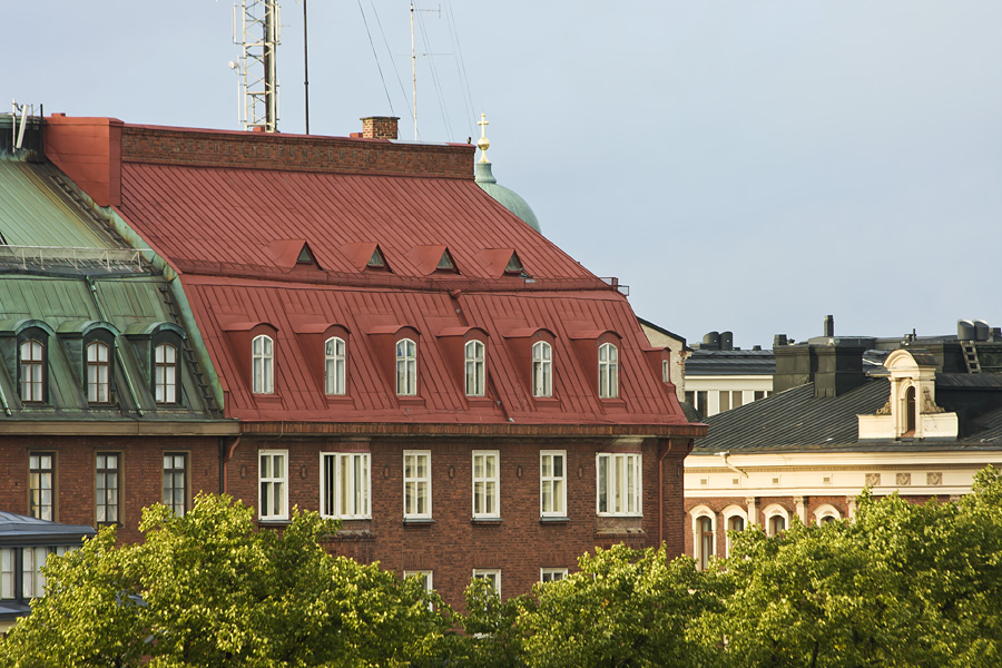 Buildings of the Kaartinkaupunki district